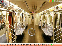 Hidden Numbers Train