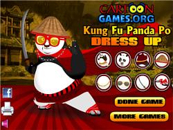 Kung Fu Po Dress Up