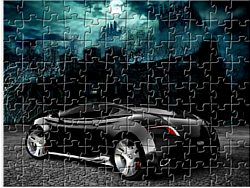 Scary Puzzle Car