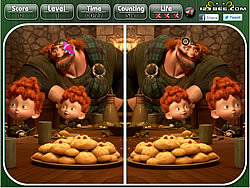 Brave – Spot the Difference